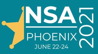 NSA 2021 conference logo